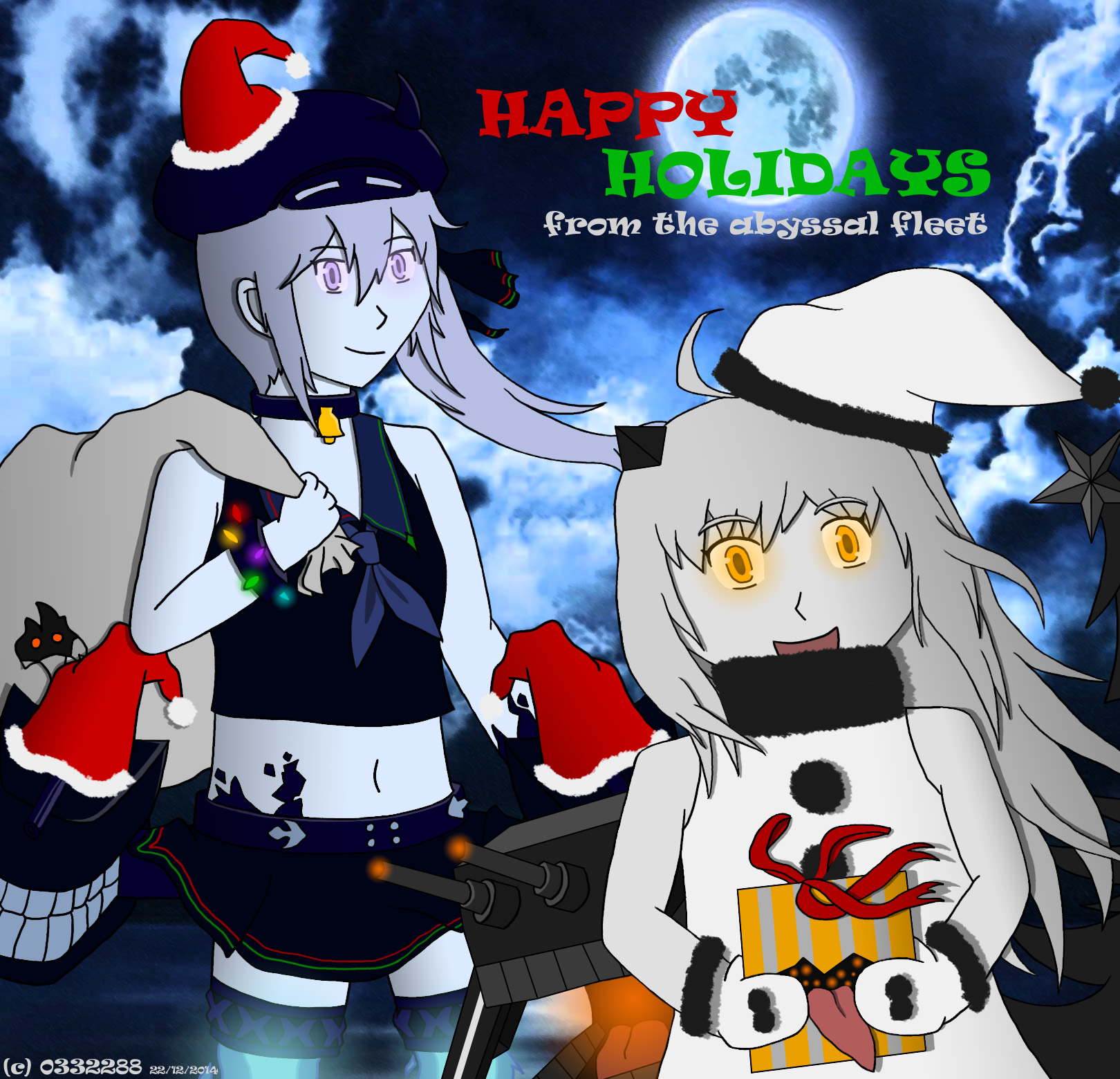 Image - An abyssal christmas by 0332288-d8aqvd1.jpg | Kancolle Wiki ...