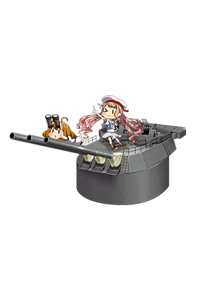 Prototype 35.6cm Triple Gun Mount 103 Full