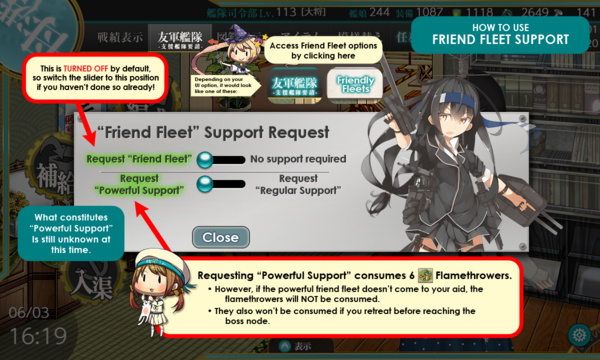 Friend Fleet Usage