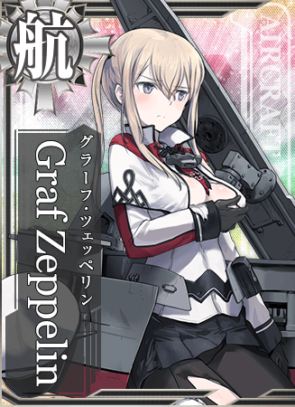 Graf Zeppelin Card Damaged