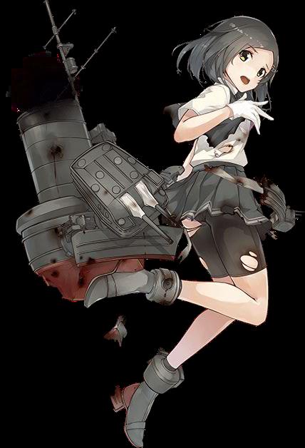 DD Kuroshio Kai Ni 568 Full Damaged