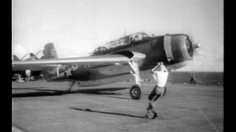 """Flying the Grumman TBF """"Avenger"""" (1944)"""