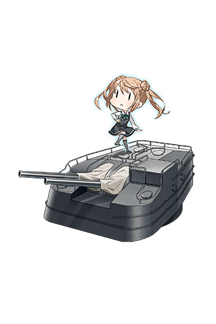 12.7cm Twin Gun Mount Model C Kai 2 266 Full