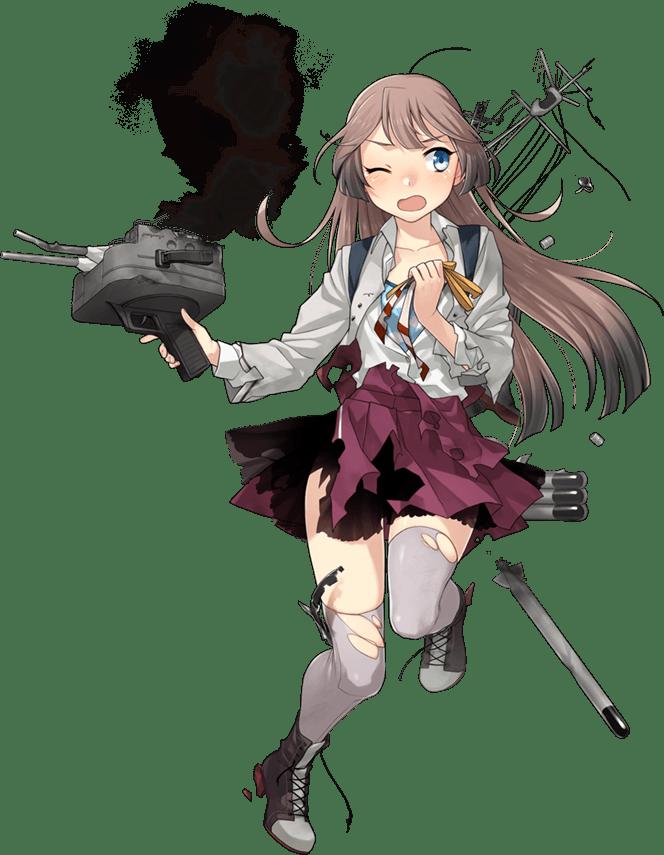 Kazagumo Kai Ni Full Damaged