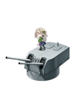 6inch Twin Rapid Fire Gun Mount Mk.XXI 359 Full