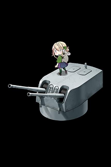 6inch Twin Rapid Fire Gun Mount Mk.XXI 359 Full