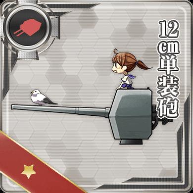 12cm Single Gun Mount 001 Card