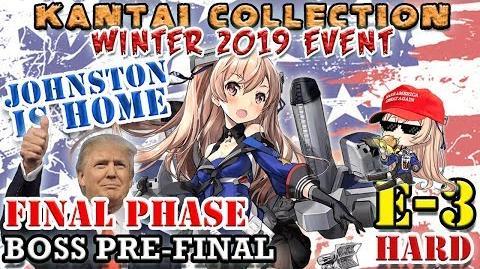 【KanColle】 Winter 2019 Event E-3甲 Hard Pre-Final