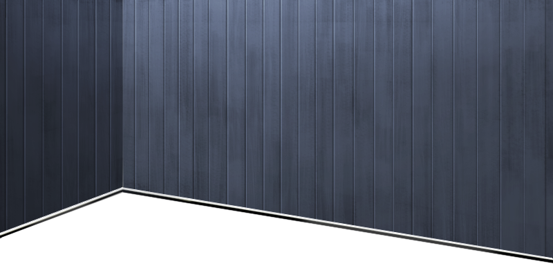 Battleship-style dark grey wall
