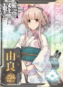 Yura Kai Ni Yukata Card