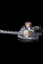 16inch Mk.VIII Twin Gun Mount Kai 332 Full