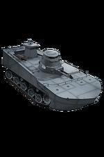 Special Type 2 Amphibious Tank 167 Equipment