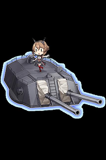 41cm Twin Gun Mount Kai Ni 318 Full