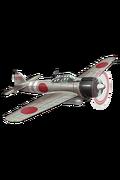 Zero Fighter Model 21 (w Iwamoto Flight) 155 Equipment
