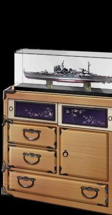 Kimono chest and Heavy cruiser model