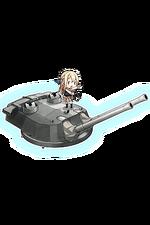 38.1cm Mk.I N Twin Gun Mount Kai 192 Full