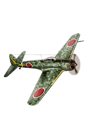 Type 1 Fighter Hayabusa Model III A (54th Squadron) 223 Equipment