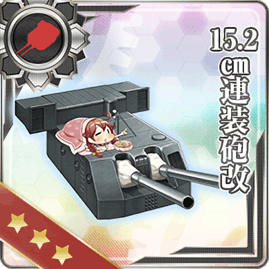 15.2cm Twin Gun Mount Kai 139 Card