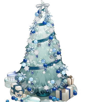 filewhite and blue christmas treepng - Christmas Tree Blue