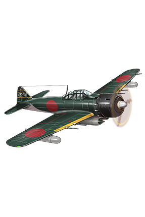Zero Fighter Model 62 (Fighter-bomber Iwai Squadron) 154 Equipment