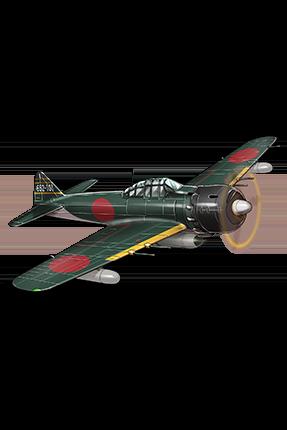 Zero Fighter Model 62 (Fighter-bomber Iwai Squadron) 154 Equipment