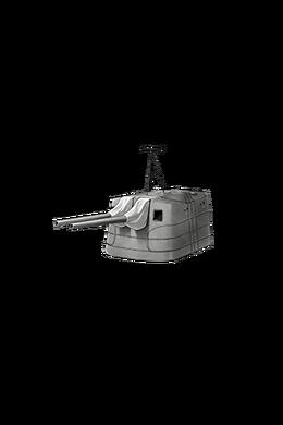 12.7cm Twin Gun Mount Model A Kai 2 294 Equipment