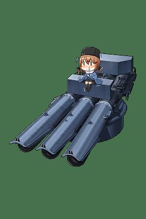 533mm Triple Torpedo Mount 283 Full