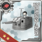 12.7cm Twin Gun Mount Model A Kai 2 294 Card