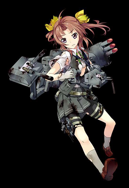 DD Kagerou 017 Full Damaged