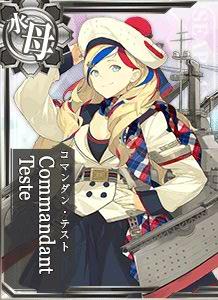 AV Commandant Teste 491 Card