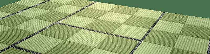 Checkered Patterned Tatami Mat