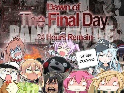 Dawn of the final day spring 2017 event