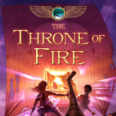 The second book: The Throne of Fire