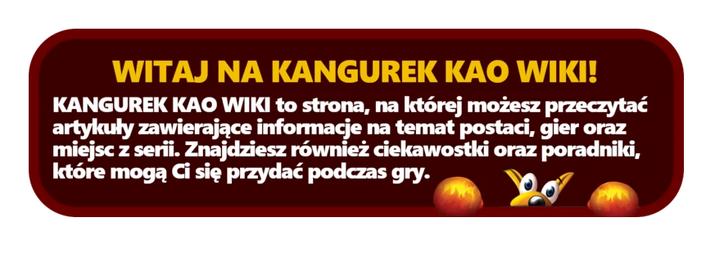 Kao Wiki text