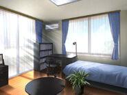 Minase Residence Yuichi's room unpacked