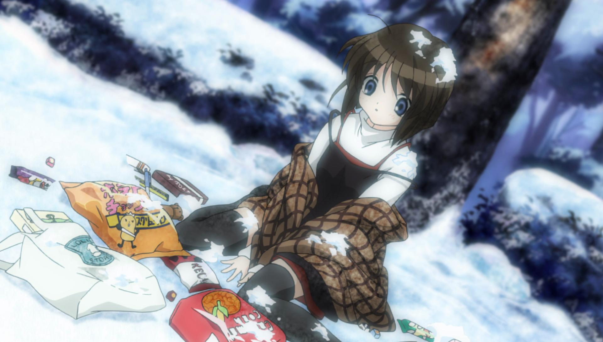 Kanon 2006 Anime Episode 2. Introit in the Snow