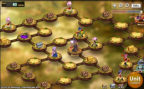 Kanpani Girls - Hidden Battlefield level 5-5 Difficulty Intermediary