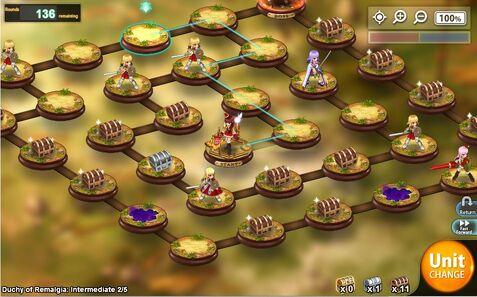 Kanpani Girls - Hidden Battlefield level 2-5 Difficulty Intermediary