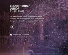 Breakthrough Junior Challenge