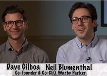 5a65cc8845e Dave Gilboa & Neil Blumenthal - Co-Founders & Co-CEOs of Warby ...