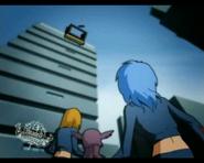 LilyMu Scene - Falls falls for a poster - Mitsuki vanishes