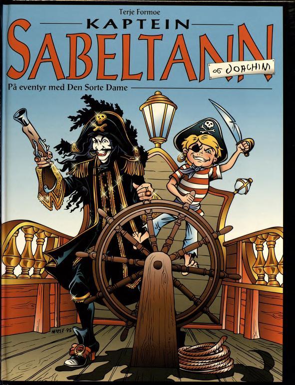 43533dc7 Kaptein Sabeltann og Joachim: på eventyr med Den Sorte Dame ...