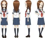 Takagi Anime Design