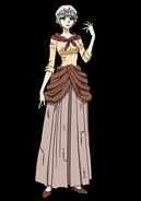 Francine human anime design