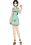 Tachibana anime design