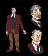 Zenji anime designs