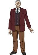 Zenji anime design