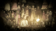 Shoji with his puppets