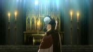Bai Yin and Francine kissing