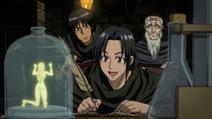 Bai Yin and Bai Jin studying alchemy